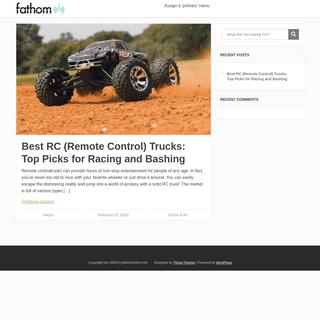 Fathom – Explore a new world