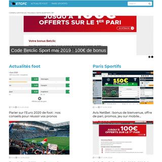 ETGFC - Football & Paris Sportifs