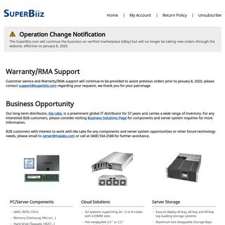 Computer Parts, CPUs, Memory, Servers and more! - SuperBiiz.com