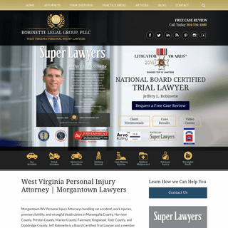 West Virginia Personal Injury Lawyer - Wrongful Death Attorney