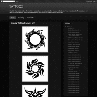 A complete backup of milliontattoos.blogspot.com