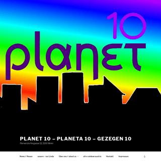 PLANET 10 – PLANETA 10 – GEZEGEN 10 – Pernerstorfergasse 12, 1100 Wien