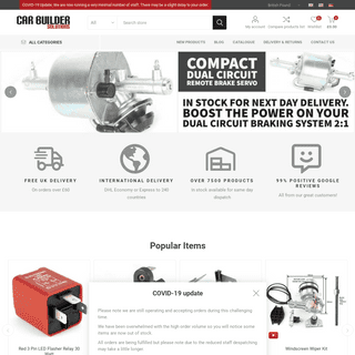 Car Builder - Kit & Classic Car Parts, Tools, Accessories, Spares and Repairs
