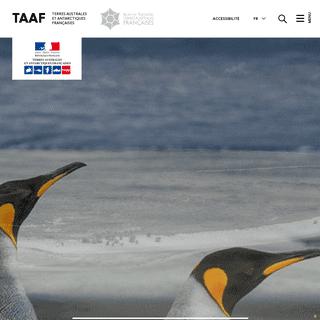 Page d'accueil - Terres australes et antarctiques françaises