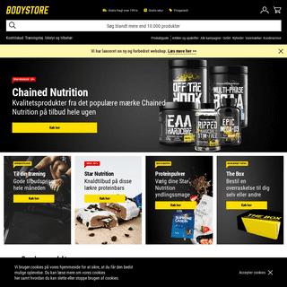 ArchiveBay.com - bodystore.dk - Køb kosttilskud og træningstøj på Bodystore.dk