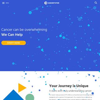 Homepage - Cancer Tutor