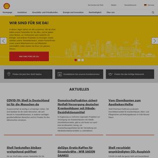 Shell in Deutschland - 2020 - Zukunft der Energie - Shell Germany