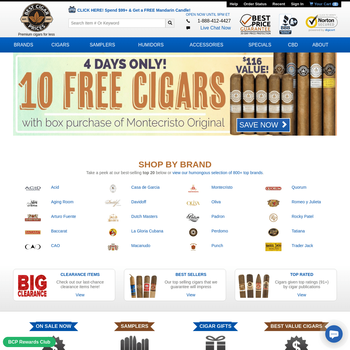 ArchiveBay.com - bestcigarprices.com - Premium Cigars, Samplers, Humidors, & More for Less - Best Cigar Prices