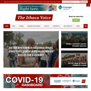 Homepage - The Ithaca Voice