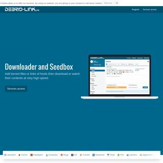 ArchiveBay.com - debrid-link.com - Debrid-Link - Quality Downloader and Seedbox, partially free