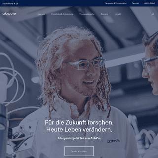 AbbVie - BioPharma-Forschung, die einen Unterschied macht