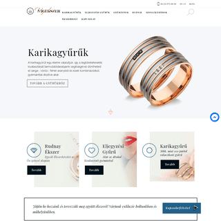 Főoldal - Eljegyzési Gyűrű, gyémánt gyűrű és ékszer - Vígékszer ékszerüzlet