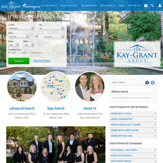 Scottsdale Realtors - The Kay-Grant Group - Search Scottsdale Homes for Sale