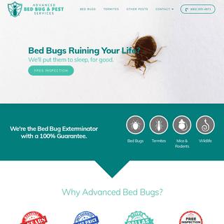 Bedbug Exterminator - Dallas Ft. Worth – Advanced Bed Bug & Pest Svcs