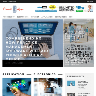 Poacht App - My WordPress Blog