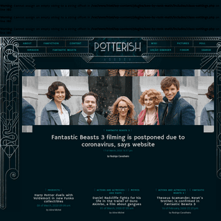 A complete backup of potterish.com