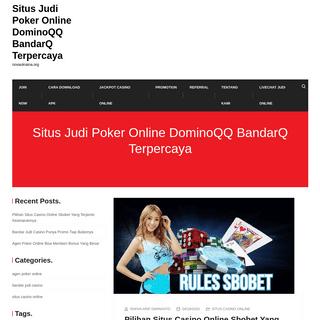 Situs Judi Poker Online DominoQQ BandarQ Terpercaya - novaukraina.org
