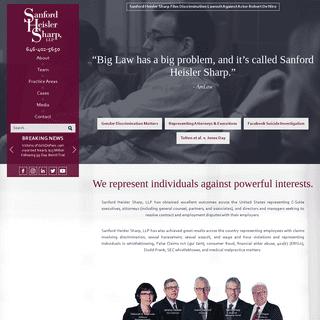 Sanford Heisler Sharp, LLP - Employment Lawyers