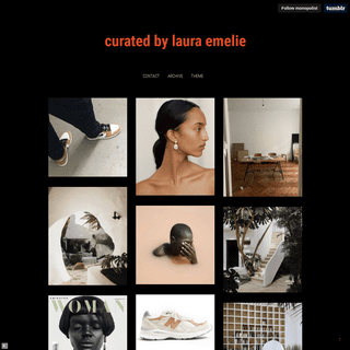 curated by laura emelie