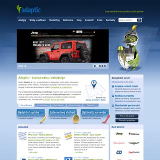 Tvorba webu - Adaptic