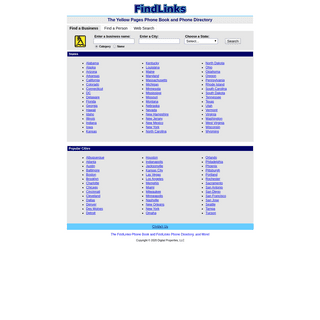 A complete backup of findlinks.com