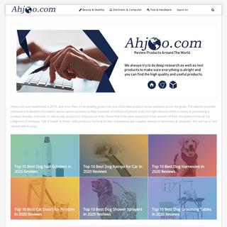 Ahjoo - Product Reviews