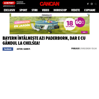ArchiveBay.com - www.cancan.ro/bayern-intalneste-azi-paderborn-dar-e-cu-gandul-la-chelsea-20146289 - Bayern întâlnește azi Paderborn, dar e cu gândul la Chelsea! - Cancan.ro