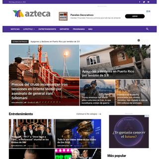 Azteca America - Para quienes viven entre dos mundos