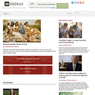 ArchiveBay.com - meridianmagazine.com - Meridian Magazine - Latter-day Saint News and Views