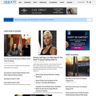 SHOOTonline - Leading Platform For Film, TV & Commercial Production & Post News