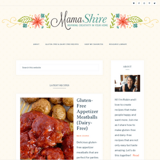 MamaShire - Making Your Gluten-Free & Dairy-Free Life Easier