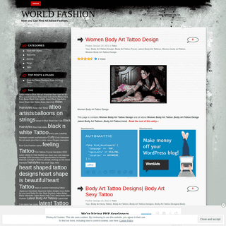 World Fashion - Now you Can Find All About Fashion.
