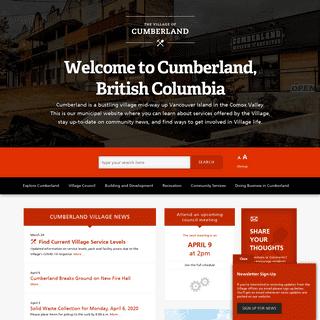 The Village of Cumberland