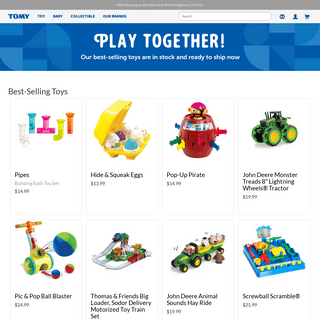 TOMY Official Website- Making the World Smile