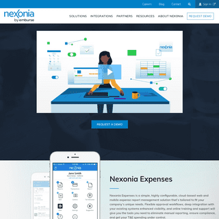 Nexonia Home - Expense Reporting and Time Reporting Software - Nexonia