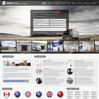 China Worldwide Relocation Company - Neptune International Movers