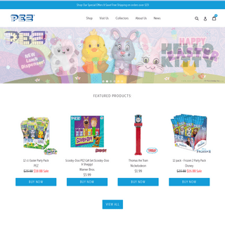 PEZ.com - Official Website for PEZ Candy USA - Home for all things PEZ