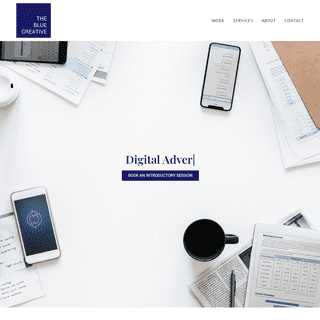 THE BLUE CREATIVE – Creative Digital Agency
