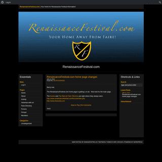 RenaissanceFestival.com - Your home for Renaissance Festival information!