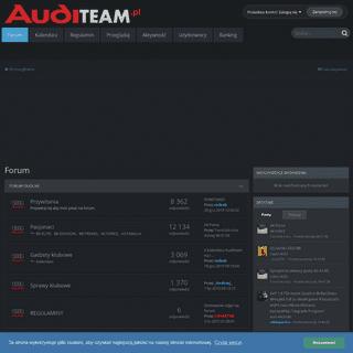 Auditeam - klub i forum pasjonatów marki Audi