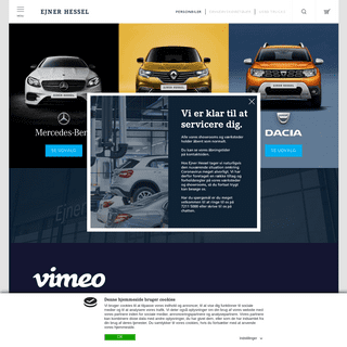 ArchiveBay.com - hessel.dk - Ejner Hessel- Forhandler af Mercedes, Renault og Dacia