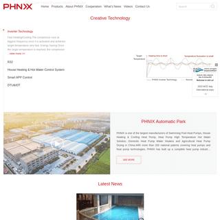 Air Source Heat Pump Supplier - PHNIX Heat Pump