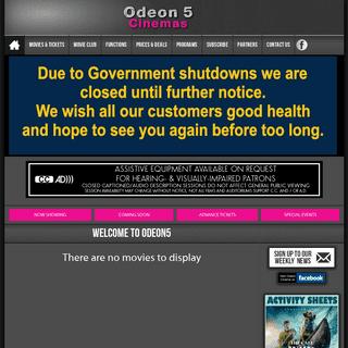 Odeon 5 Cinema Orange NSW - Home