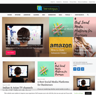 Teknologya - Keep Yourself updated with Hi-Tech World