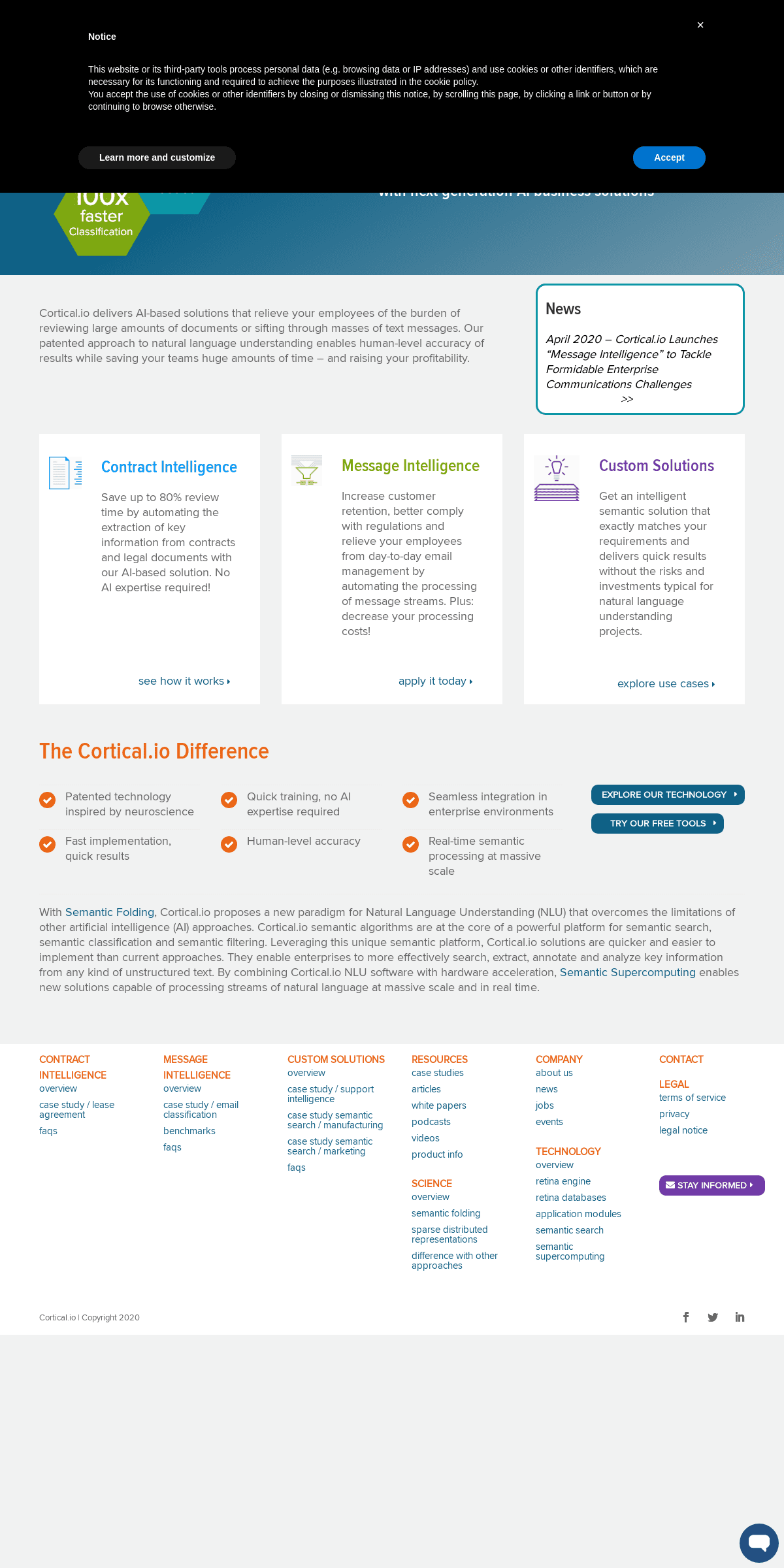Cortical.io - Next generation of AI business applications