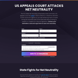 Join the Battle for Net Neutrality