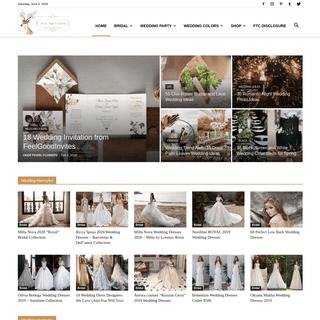 ArchiveBay.com - deerpearlflowers.com - Deer Pearl Flowers - Wedding Colors & Ideas