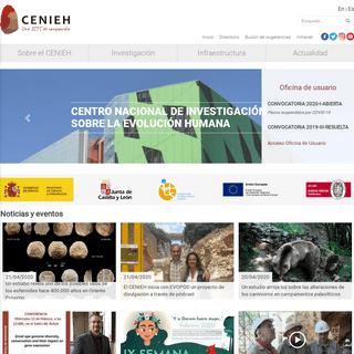 CENIEH - Inicio - CENIEH
