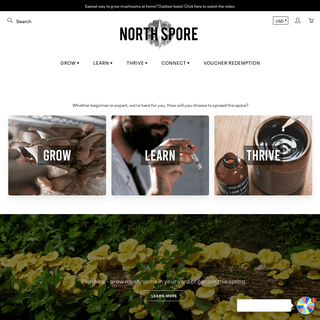 Mushroom Spawn - Grow Kits - Supplies - Learn How – North Spore