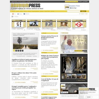 Gaudium Press - Home